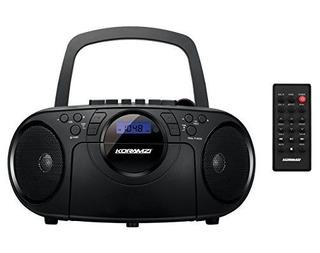 Koramzi Portable Cd Boombox Sistema De Sonido Estéreo De R