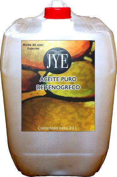 Aceite Natural Jye De Fenogreco Puro 20 Litros A Granel