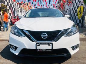 Serrano Automotriz Nissan Sentra 17 Bco ¡1 Año Con Garantía!