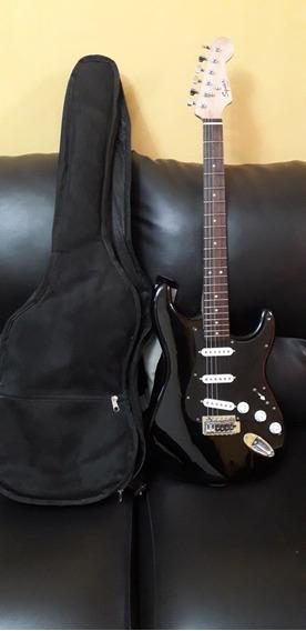 Guitarra Electrica Marca Fender Con Amplificador