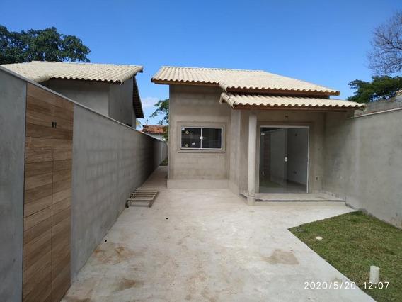 Casa Em Itaipuaçu, Maricá/rj De 80m² 2 Quartos À Venda Por R$ 230.000,00 - Ca542813