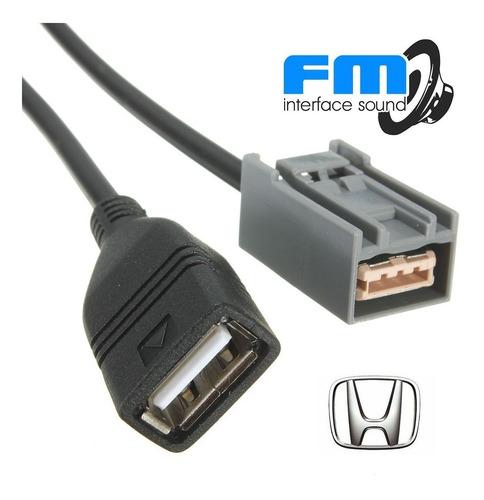 Cable Adaptador Usb  Honda  Fit , City