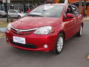 Toyota Etios Sedan Xls-mt 1.5 16v Flex