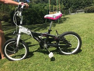Bicicleta Rodado 16 X-terra Niña Love Me - Usada- Impecable!