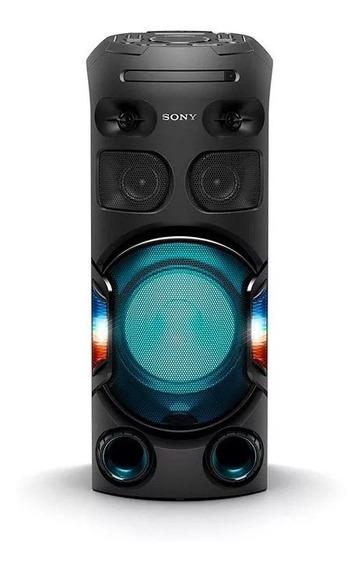 Mini System Sony Torre De Som Mhc-v42d Bluetooth Mp3 Usb Hd