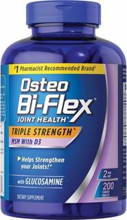 Osteo Bi-flex Vitamina D3 200 Tablets Validade 09/2021