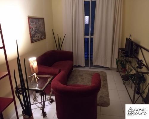 Apartamento Para Venda No Bairro Campestre Em Santo André - Sp . - Ap00415 - 68120508