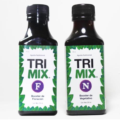 Imagen 1 de 1 de Kit De Nutrición Biomineral Trimix Treemix 200ml F + N