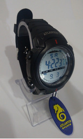 Relógio Digital Atlantis Cronômetro 7330g Corrida + Brinde !