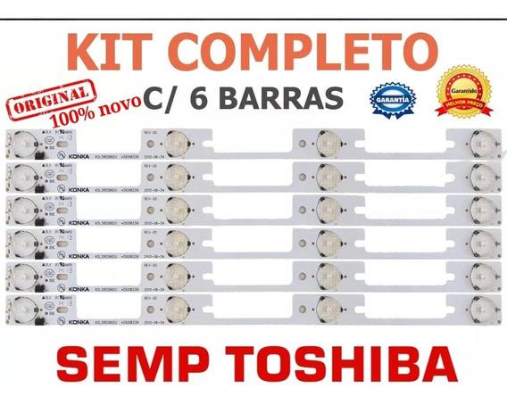 Kit Barras De Led Semp Toshiba Nova 39 A 40 Polegadas