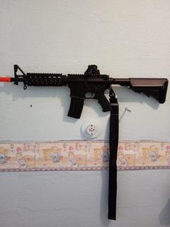 Rifle Airsoft M4a1 Ris Cqb Cm002 Full Metal - 6mm - Cyma