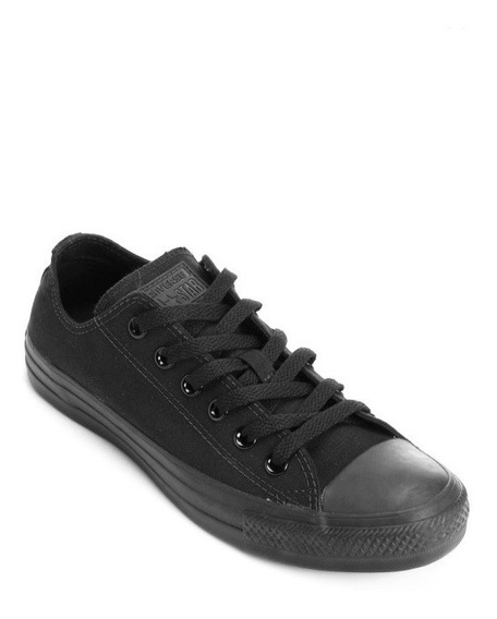 Tênis Converse All Star Monochrome Preto