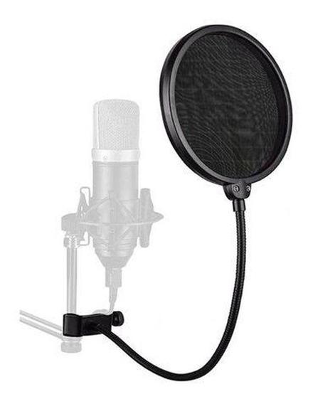 Filtro Anti-ruído Microfone Pop Filter Dreamer Ps01 Estúdio