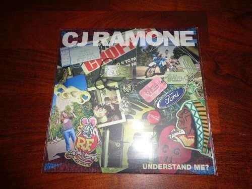 Cj Ramone/ramones-understand Me? (vinilo 7