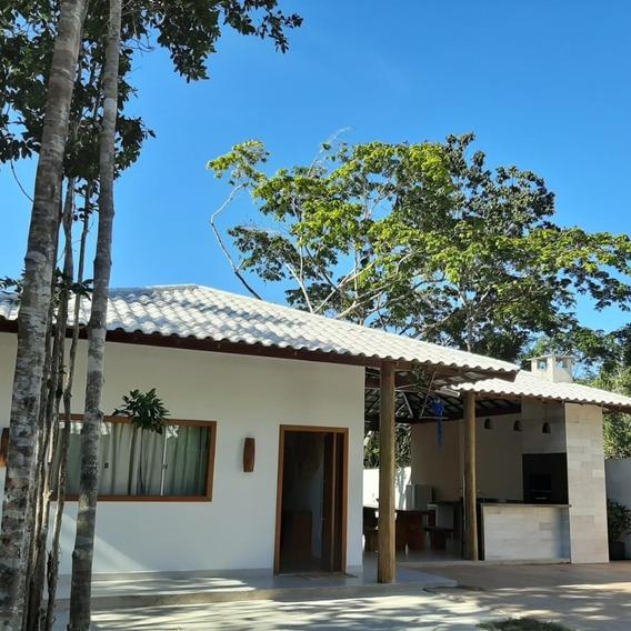 Casa Com 3 Suítes, Piscina E Área De Churrasco Para Aluguel