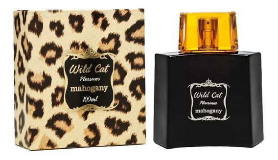 Fragrância Desodorante Wild Cat + Brinde - Mahogany