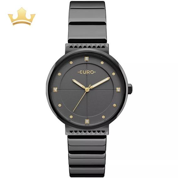 Relógio Euro Feminino Eu2035yob/4p Com Nf