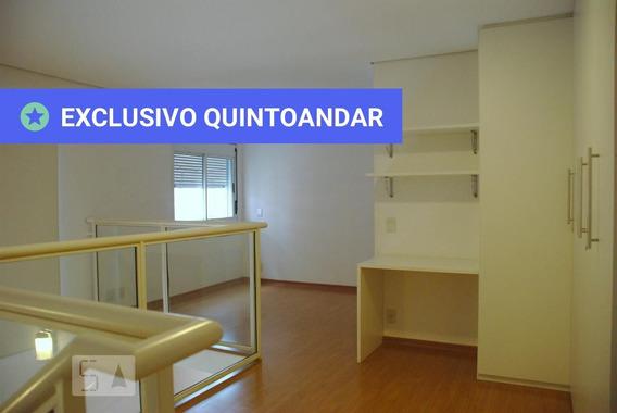 Studio No 13º Andar Com 1 Dormitório E 2 Garagens - Id: 892988815 - 288815