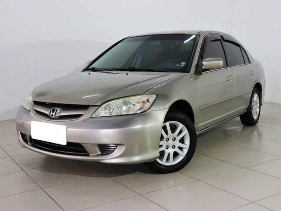 Honda Civic Lxl 1.7 Dourado 16v Gasolina 4p Aut. 2006