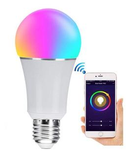 Bombilla Led Inteligente E26 Rgbw Wifi Smart Bulb 7w 600lm