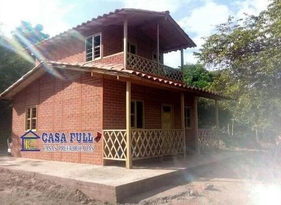 Casas Prefabricadas En 1 Y 2 Niveles