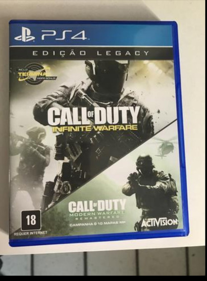 Jogo Ps4 Call Of Duty