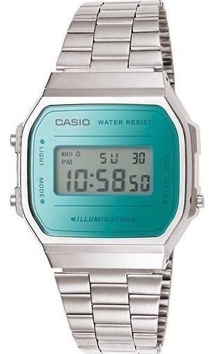 Relógio Casio Vintage Retro A168wem Lançamento Frete Grat