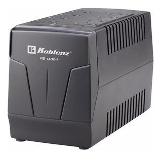Regulador De Voltaje Koblenz Para Pc Computadora Pantalla Smart Tv Xbox Modem Etc Con 8 Contactos 1400va 600w 5a