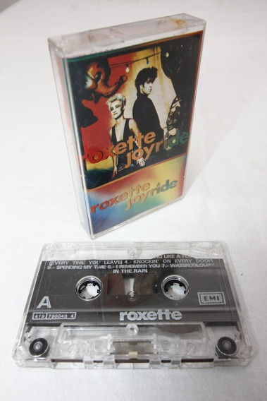 Cassette Roxette Joyride 1991 México