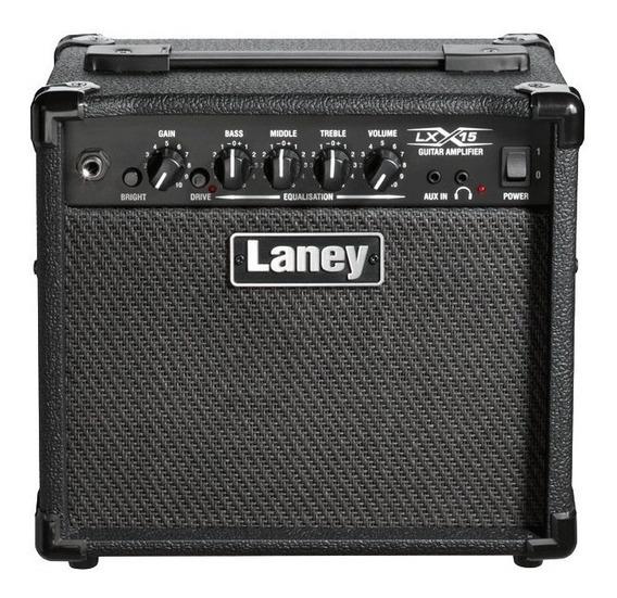 Amplificador De Guitarra Eléctrica Laney Lx15 15 Watts