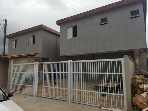 Casa Em Parque São Vicente, São Vicente/sp De 45m² 2 Quartos À Venda Por R$ 209.000,00 - Ca964268