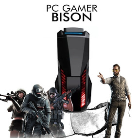 Pc Gamer Bison Intel Core I5-8400, Rx 560 4gb, 1tb, 8gb Ram