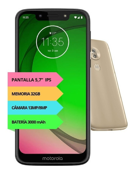 Celular Motorola Moto G7 Play Xt-1952 32gb 2019 4g Oficial 6
