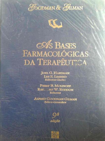 Livro As Bases Farmacológicas Da Terapêutica - 9 Edição
