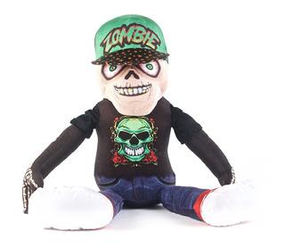 Peluches Zombie Skull 42 Cm Original Wabro