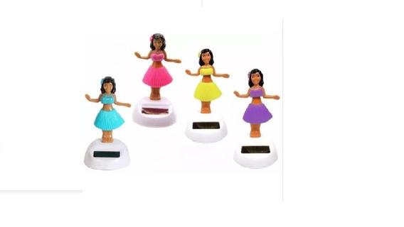 Havaiana Boneca Dançarina Dança Com A Luz Solar