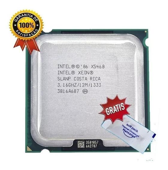 Processador Intel Core 2 Quad Q9650=x5460 3.16ghz + Cooler