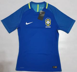 Camisa Seleção Brasileira Azul Jogador 2016/2017 Aeroswift