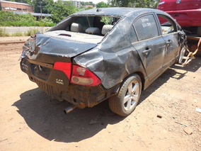 Sucata Honda Civic Lxs 140cv 2010 Para Venda De Peças Usadas