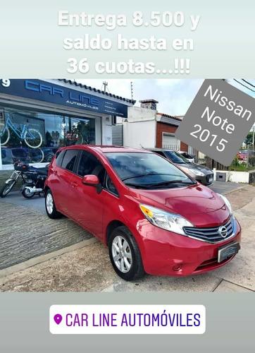 Nissan Note 1.6 Note Sense Mt 2015 Permuto Financio