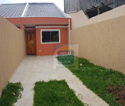 Casa Com 2 Dormitórios À Venda, 44 M² Por R$ 200.000,00 - Caiuá - Curitiba/pr - Ca0280