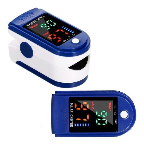Imagen 1 de 9 de Oximetro Profesional Dedo Certificado Pulsioximetro Digital
