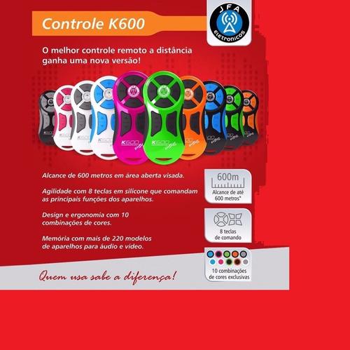 Control Larga Distancia  Jfa-600 Varios Colores