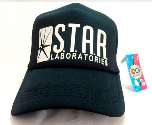 Imagen 1 de 3 de Gorra Trucker Star Laboratories - The Flash Barry  Dos Caras