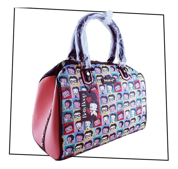 Cartera Betty Boop - Caras - Multicolor - Original