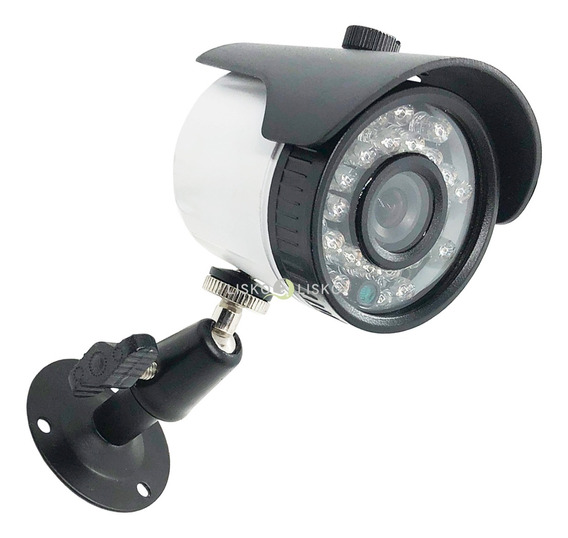 Camera Bullet Cftv Color 700 Linhas 3,6mm 20 Metros Connect