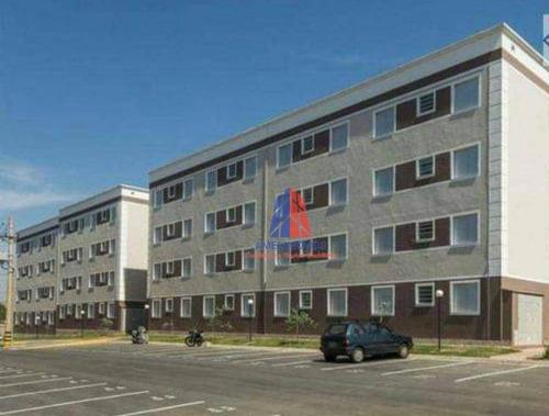 Apartamento Com 2 Dormitórios À Venda, 47 M² Por R$ 185.000,00 - Jardim Recanto - Americana/sp - Ap0954