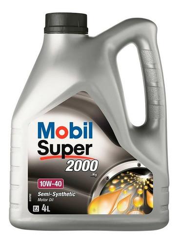 Imagen 1 de 5 de Mobil Super 10w40 4lts Todoventascurico