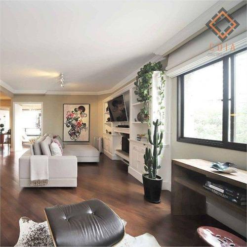 Imagem 1 de 19 de Apartamento Para Compra Com 3 Quartos E 2 Vagas Localizado No Brooklin - Ap55348
