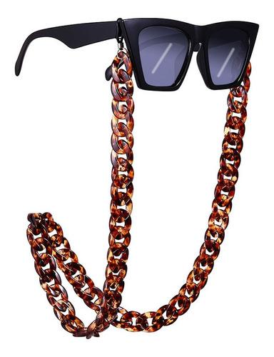 Imagen 1 de 6 de Cadena De Gafas De Moda Collar De Cadena De Anteojos